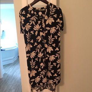 Women's button up dress